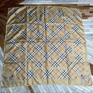 Vintage Silk Burberrys Scarf
